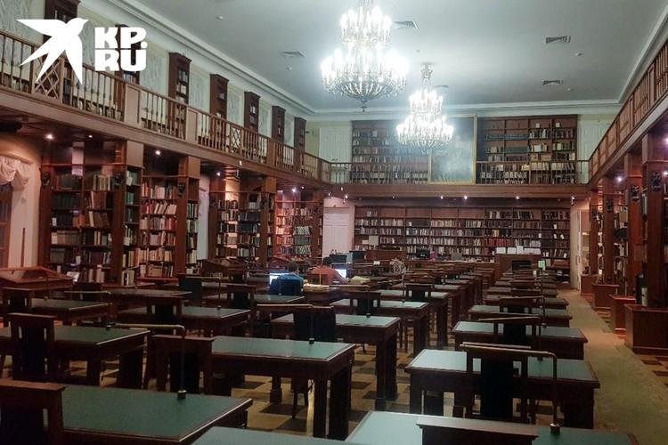 С 20 июня планирует открыться главная библиотека страны
