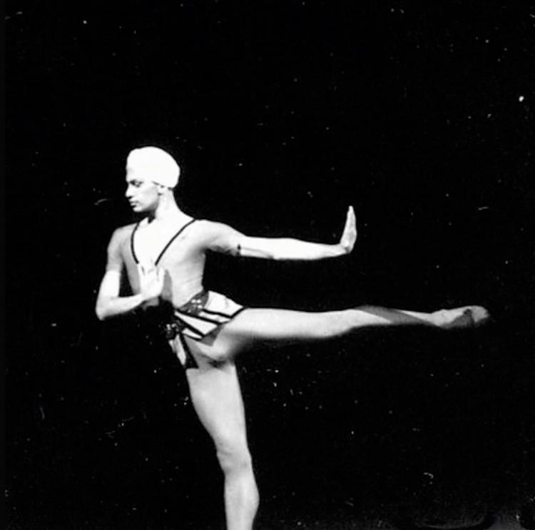 Архивные фото Цискаридзе.