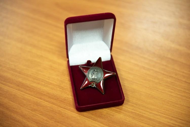 Орден Красной Звезды много лет хранился в чужой семье