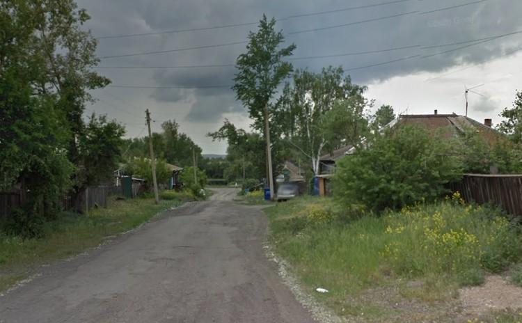 Трагедия случилась у протоки Енисея в этом районе. Фото: Гугл - карты.