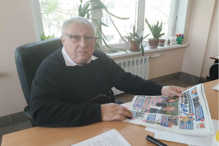 Генеральный директор предприятия - Игорь Бойко. ФОТО: Тамара Смирнова