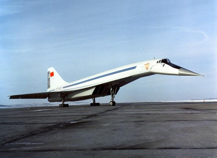 Ту-144 в 1970 году. Фото Ю.Чуприкова (Фотохроника ТАСС)