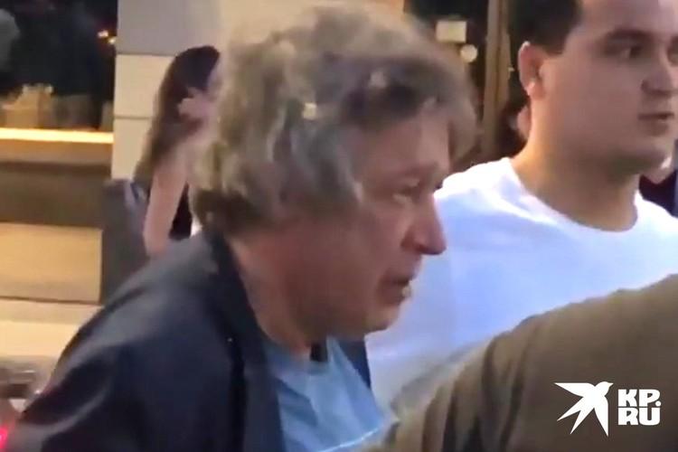 Ефремов находился за рулем в состоянии алкогольного опьянения.