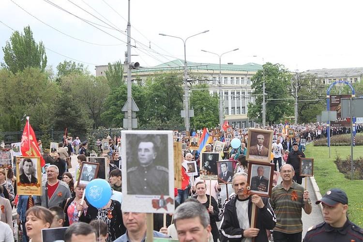 Особая боль «Дома» - празднование Дня Победы и Бессмертный полк в ЛДНР