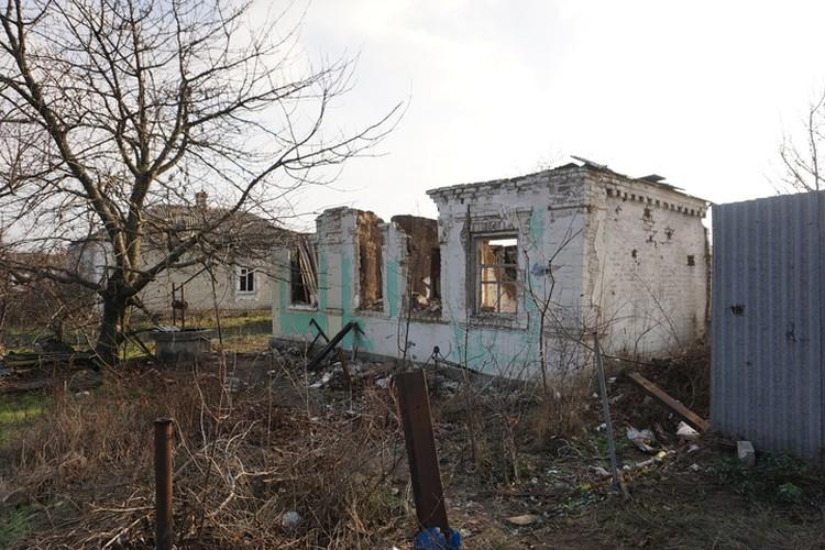 А это Коминтерново, которое Украина утюжит почти ежедневно.