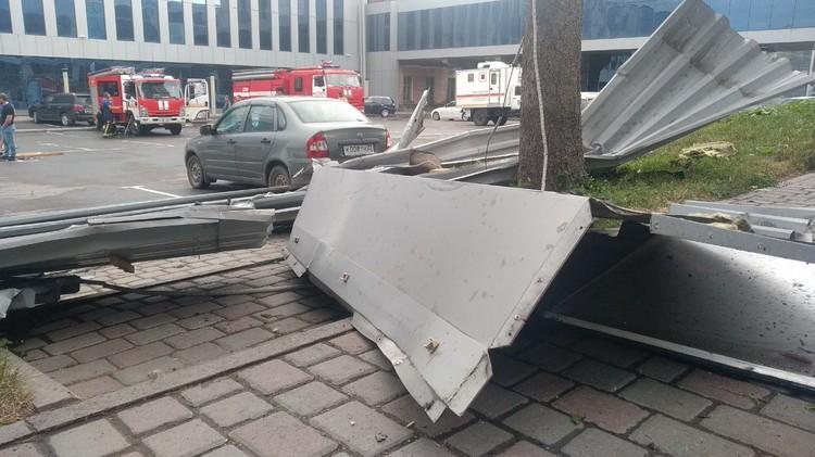 Последствия шторма в Барнауле. Фото: Толк