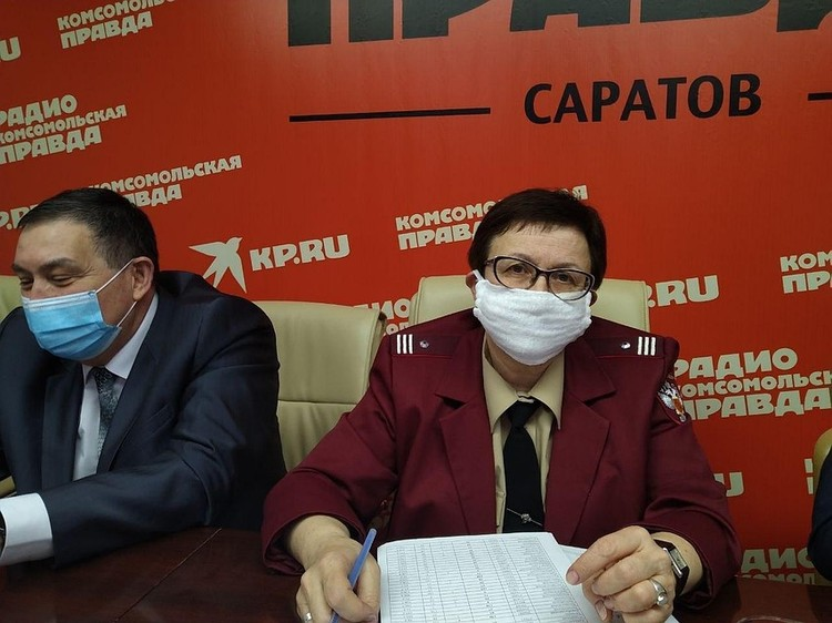 Надежда Матвеева, заместитель главы Роспотребнадзора по Саратовской области