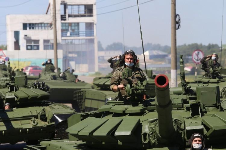 В Нижнем Новгороде состоялась репетиция «Марша Победы».