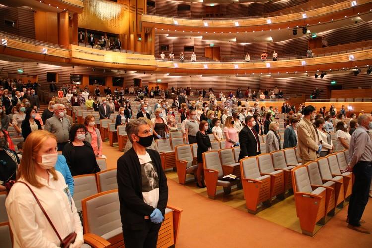 Концерт дали в преддверии Дня медработника. Фото: gov.spb.ru