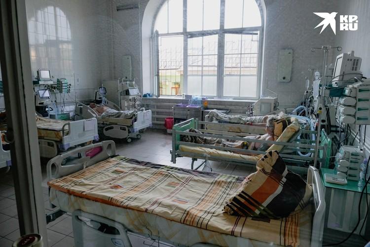 Из реанимации пациентов позже переведут в обычные отделения