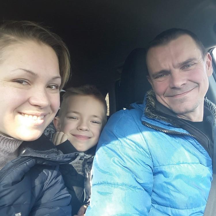 Ирина с семьей Фото: из личного архива Ирины Насоновой