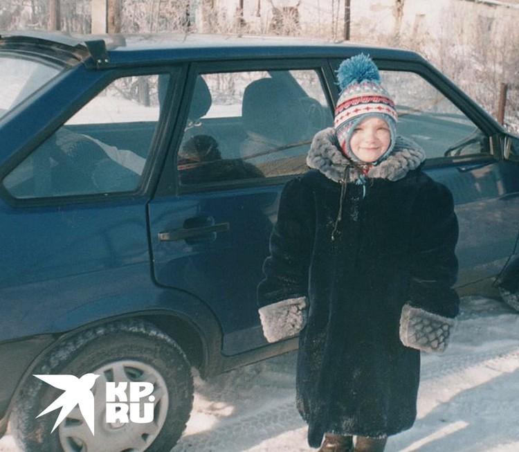 Вот такая Люда появилась в новом доме 31 декабря 2002 года