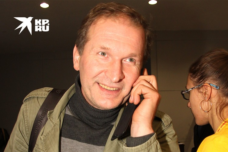 Актер Федор Добронравов.