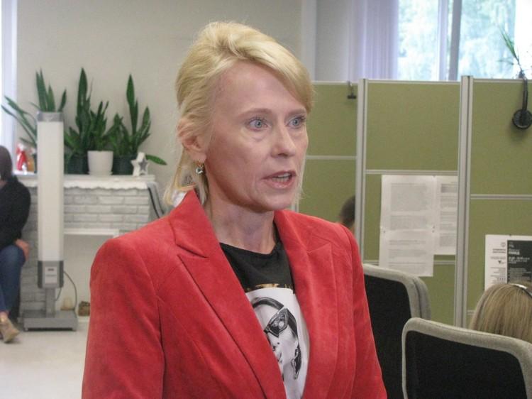 Финансовый директор Благотворительного фонда развития города Тюмени Лариса Зубцова