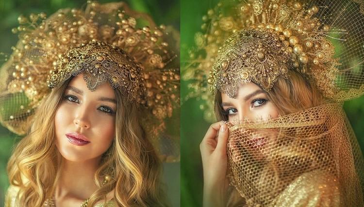Благодаря головному убору девушки вмиг превращаются в принцесс. Фото: savritskayaphoto