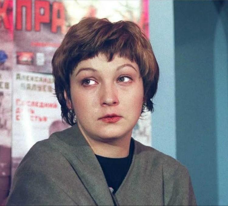 Четвертая жена Ефремова актриса Ксения Качалина. Фото: Константин КРЫМСКИЙ/TASS