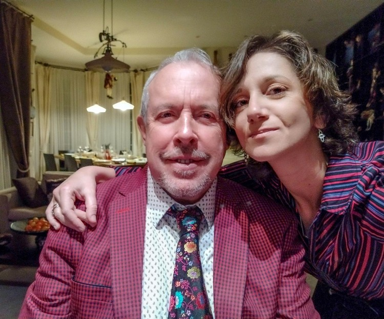 Андрей Макаревич и его четвертая жена Эйнат Кляйн сыграли свадьбу в конце 2019 года