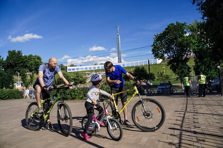 Ленинский район — отличное место для занятий спортом