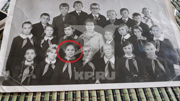 Жанна Агузарова в 6 классе. Фото: предоставлено Натальей Прониной