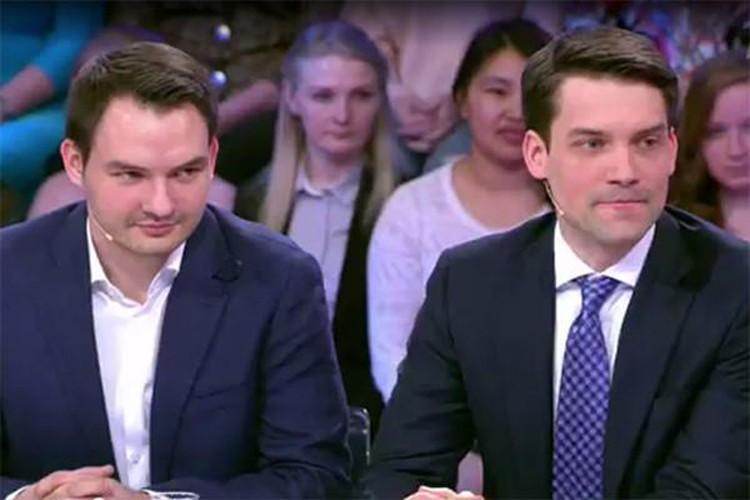Сыновья Елены Малышевой — Василий (слева) и Юрий