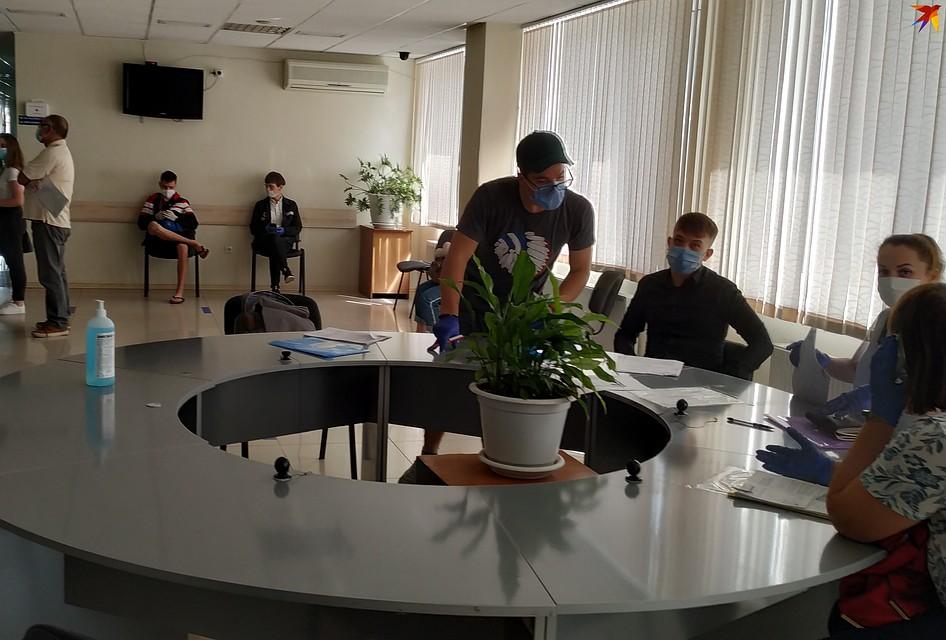 В помещениях департамента - комфортно Фото: Наталья СИНЯВСКАЯ