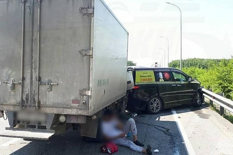 В ДТП пострадал водитель грузовика