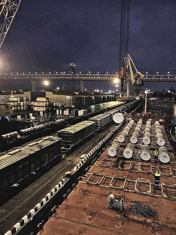 При транспортировке полностью обеспечиваются все меры безопасности. Фото: Предоставлено ГК «Росатом».