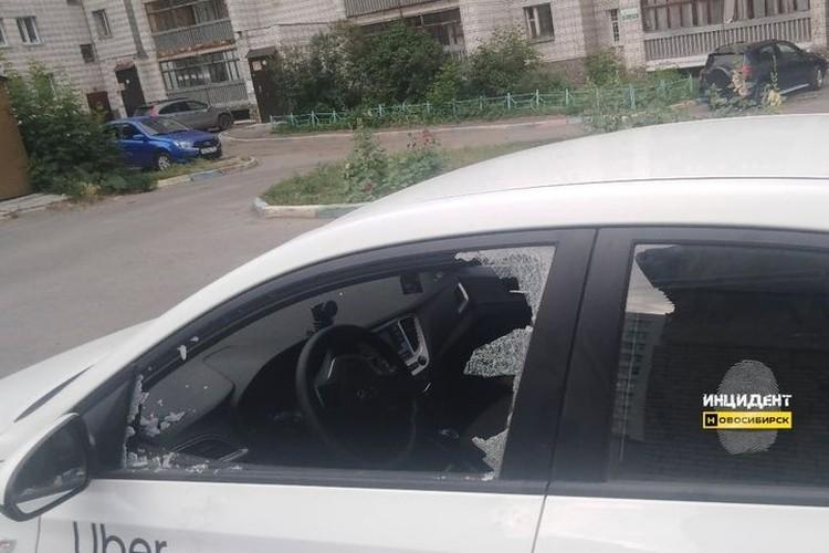 """Как написал в соцсетях хозяин авто, из машины пропала только мелочь на сумму менее 50 рублей. Фото: """"Инцидент Новосибирск"""""""