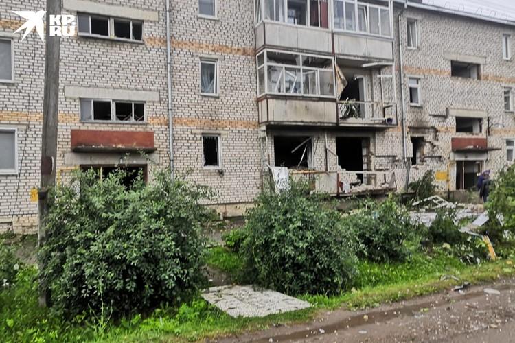 Трое жильцов дома пострадали, один из них погиб. Фото: предоставлено очевидцем