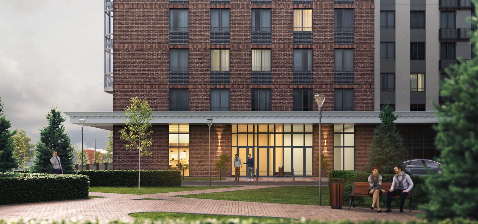 Архитекторы и дизайнеры, работающие над проектом, взяли все самое лучшее в оформлении от элитных зданий и дорогих гостиничных сетей. Фото: сайт ГК «Каркас Монолит»