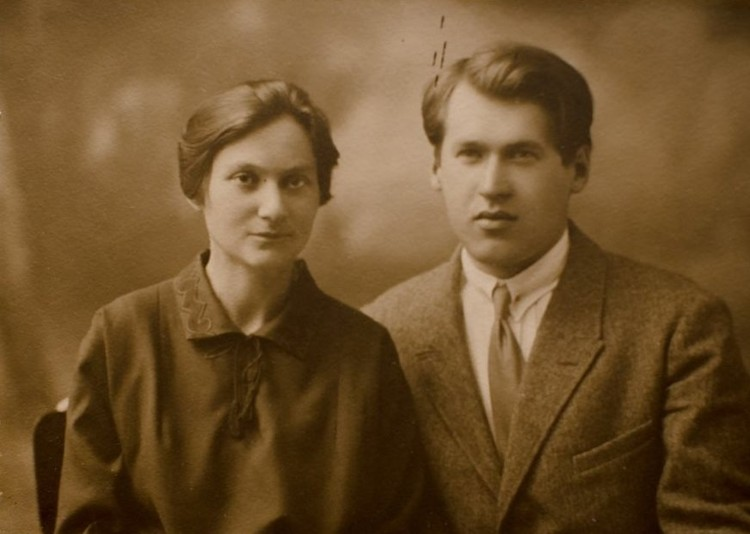 Владимир Дубовка с женой Марией Клаус. Фото: Предоставлено Анной Северинец