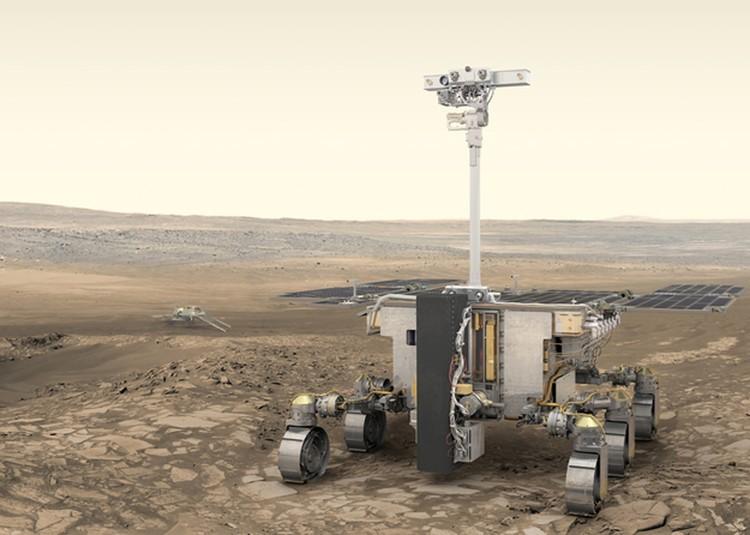 Робот ExoMars.