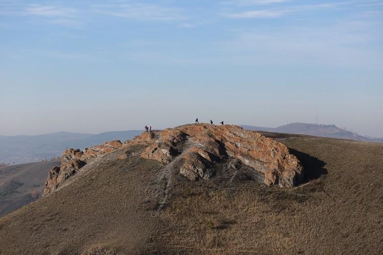 А это Торгашинский хребет