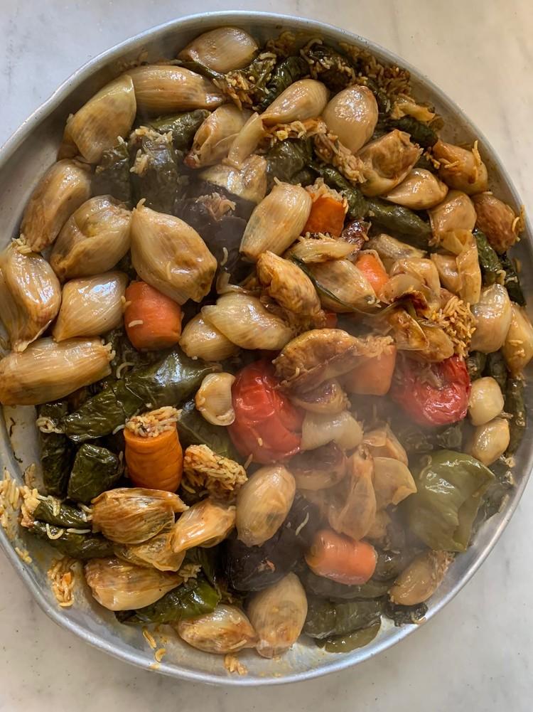 Долма - любимое восточное блюдо Анастасии. ФОТО: Личный архив героини