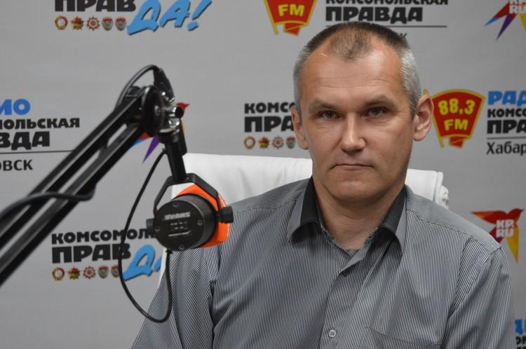 Александр Лаврешкин, начальник Аварийно-спасательной службы Хабаровского края