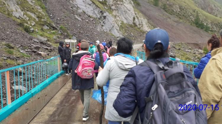 Все 36 человек благополучно эвакуировали Фото: МЧС Тувы