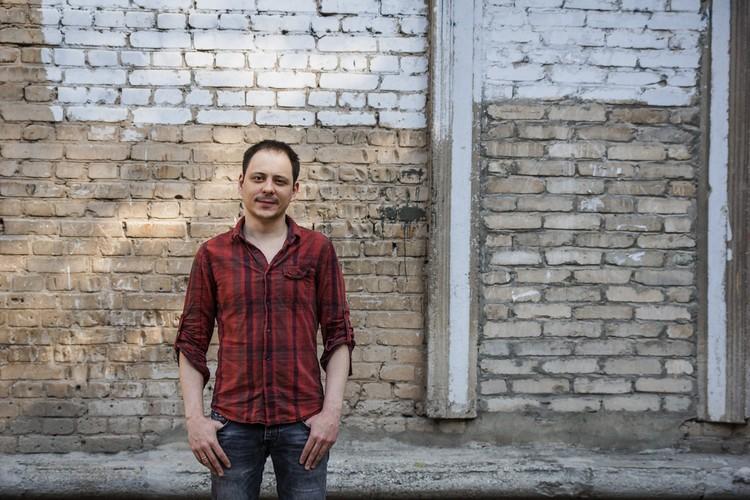 Андрей Олех, писатель, автор трилогии о Безымянке