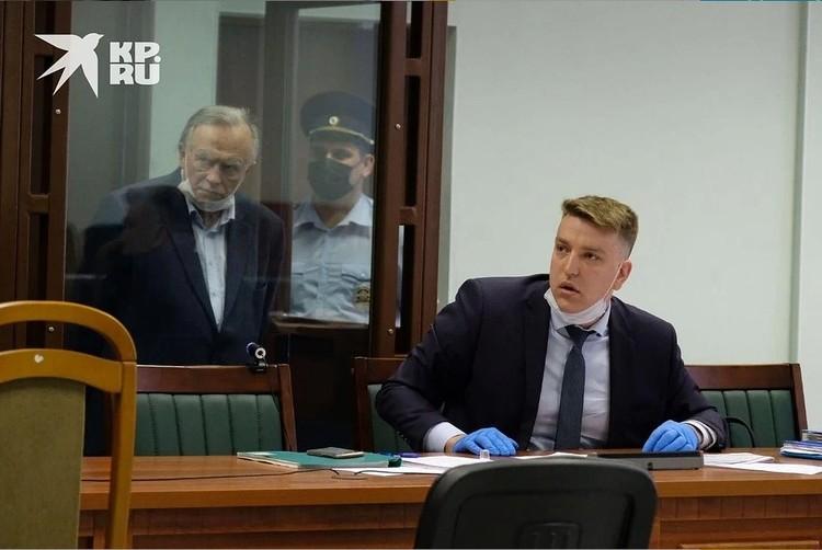 Олег Соколов в суде выдал очередную гневную тираду