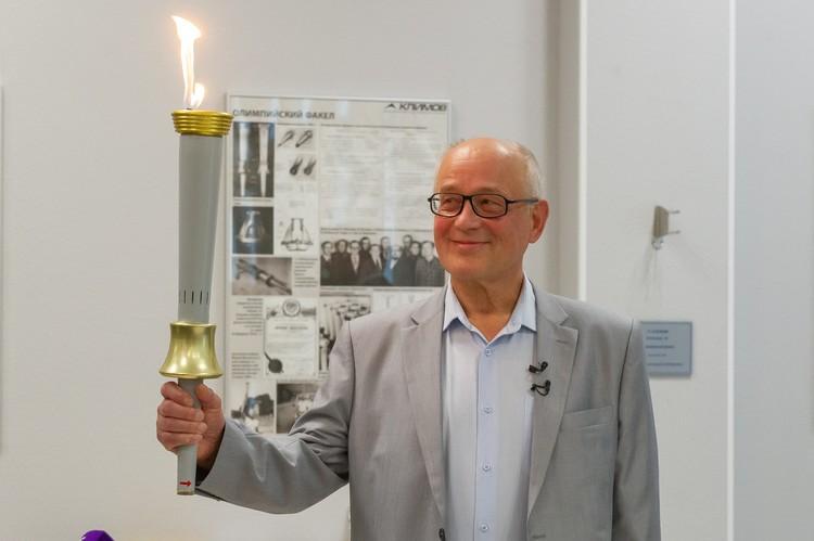 Владимир Гайдо был одним из тех, кто создал главный символ Олимпиады.