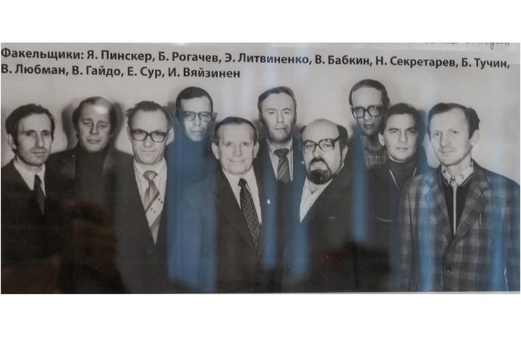 Команда умельцев с завода имени Климова. Фото: Пересъемка Олега Золото