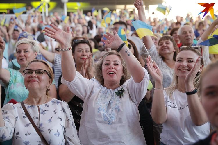 Зрителям понравилась украинская эстрада
