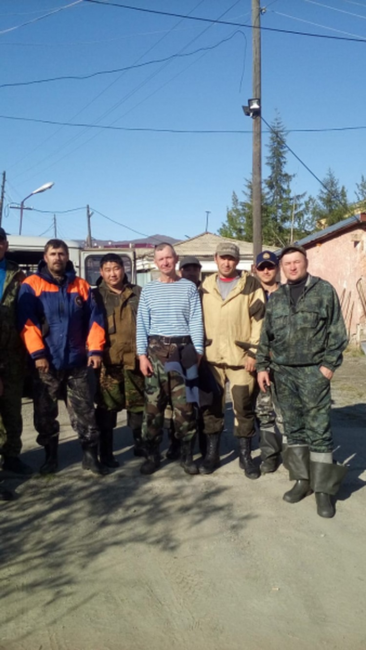 Спустя 15 дней мужчину нашли живым. Фото: УМВД России по Чукотскому автономному округу.
