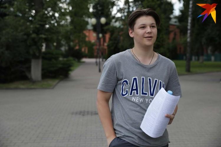 Александр приехал из России и хочет поступать в БНТУ