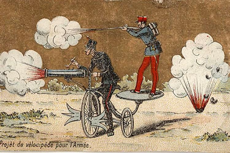 Французская открытка конца XIX века. Фото: Музей военной формы