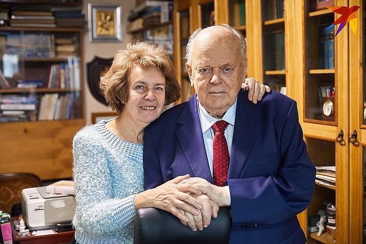 Станислав Станиславович с супругой Ириной.