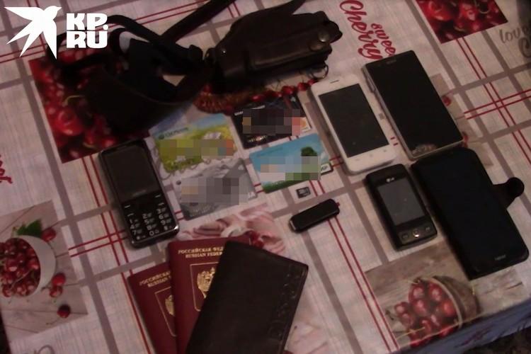 Эти вещи нашли у террористов.