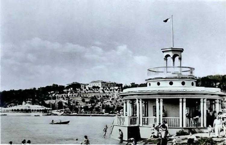 1960-е, лодочная станция