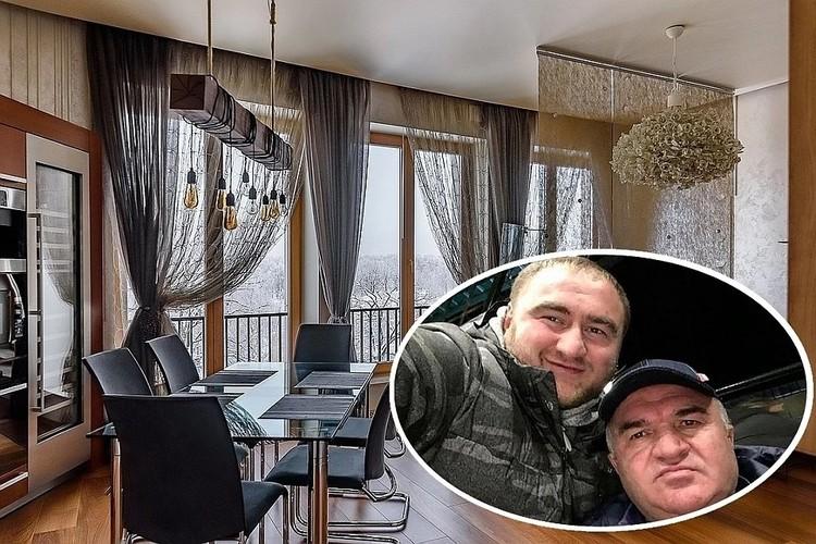 Апартаменты эск-сенатора Арашукова в Санкт-Петербурге. Фото: evspb.ru/соцсети