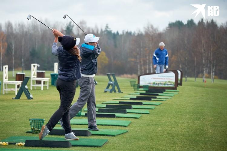 Любители аристократического отдыха могут сыграть в гольф