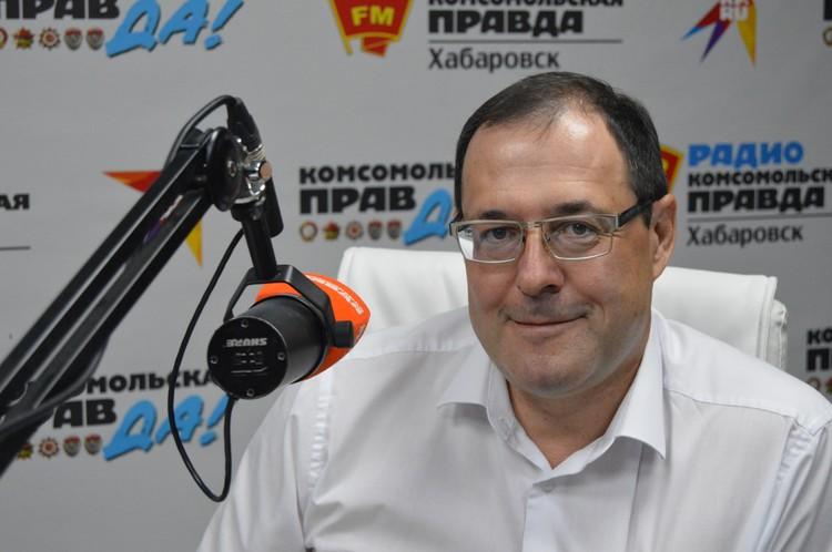 Сергей Ефремов, руководитель УФНС России по Хабаровскому краю